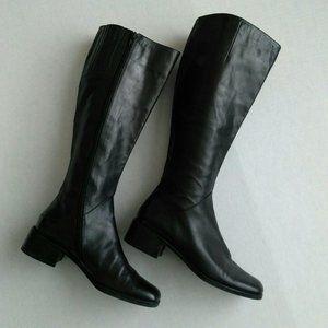 🌿2/$25 Vaneli   Vintage Riding Boots Black 7